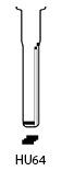 Profil lame HU64