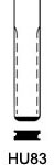 Profil lame HU83