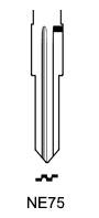 Profil lame NE75