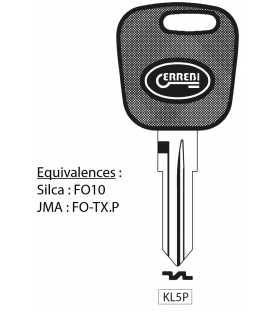 ISU20 - Coque compatible Isuzu 2 boutons pour D-Max, N-Evolution, F-Evolution