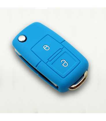 Housse silicone pour cl vw 2 boutons for Housse pour automobile