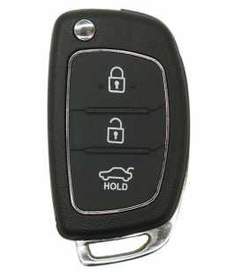 Coque Hyundai/ Kia 3 boutons compatible
