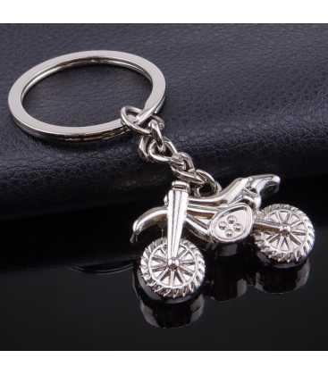 Porte clés Métal Moto