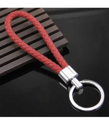 Porte clés Tresse Rouge