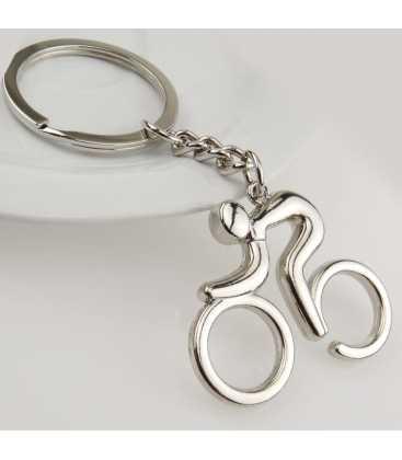 Porte clés Métal Cycliste