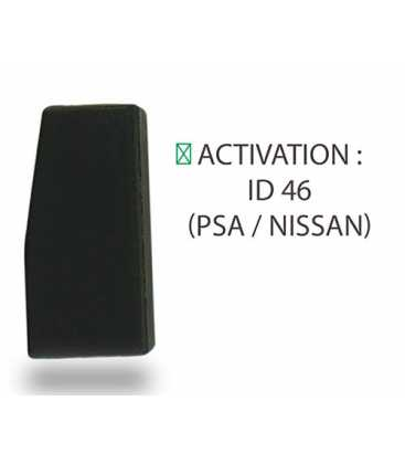 Transpondeur activation ID 46 PSA / Nissan