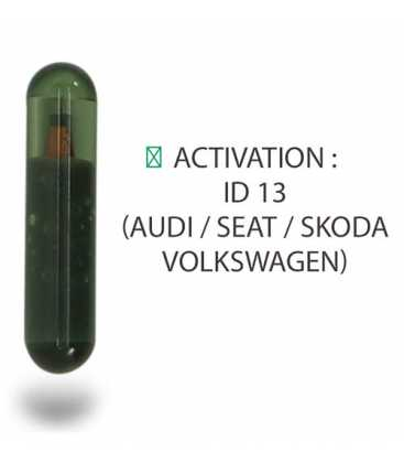 Transpondeur activation ID 13 Audi, Seat, Skoda, Volkswagen