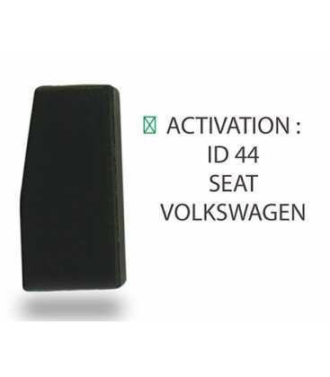 Transpondeur ID44 Seat, Volkswagen (Silca T28)