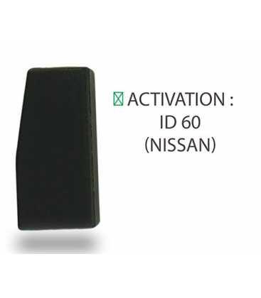 Transpondeur activation ID 60 Nissan