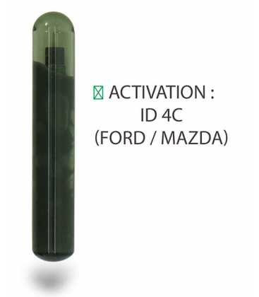Transpondeur activation ID 4C Ford / Mazda