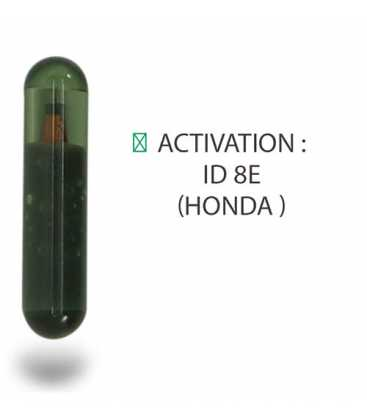 Transpondeur activation ID 8E Honda