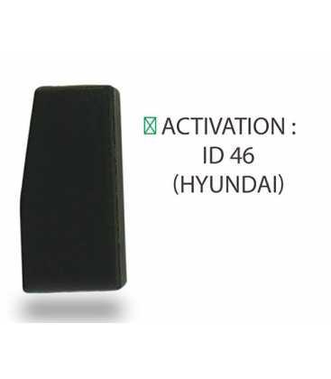 Transpondeur activation ID 46 Hyundai