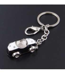 Porte clés Auto Rétro Noir