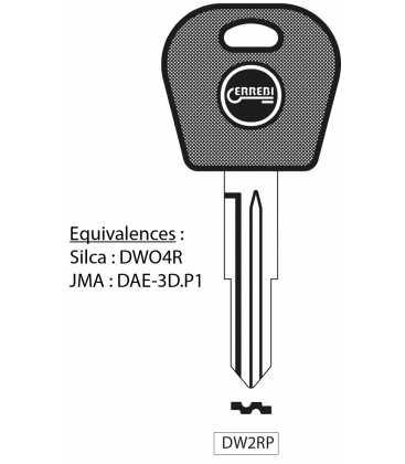DW2RP - Clé à transpondeur