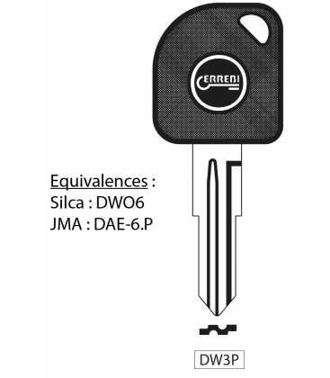 DW3P - Clé à transpondeur