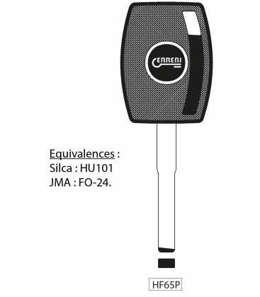 HF65P - Clé à transpondeur