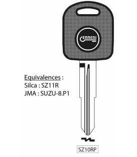 Clé à transpondeur profil type SZ11R