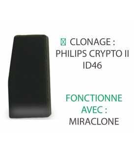 ID46W Transpondeur clonage ID46 à partir de TK60