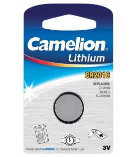 CR2016 Pile Lithium 3V - Boite de 10 blisters individuels