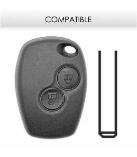 Télécommande compatible Renault Clio, Master, Kangoo, Modus, Twingo, NV400 PCF7947 - VA2