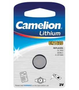 CR1620 Pile Lithium 3V - Boite de 10 blisters individuels