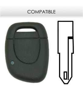 Télécommande compatible Renault Clio 2001 - 2008